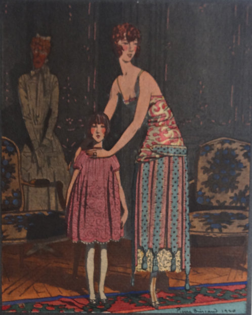 Gazette Du Bon Ton 1921 No 1 Pochoir