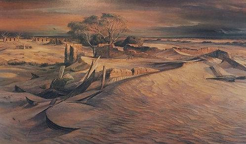 Kenneth Jack, Killalpaninna Mission Ruins, SA
