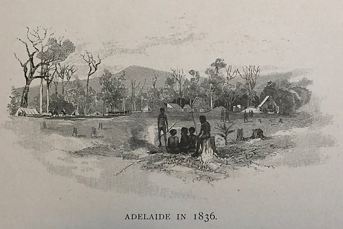 Adelaide in 1836