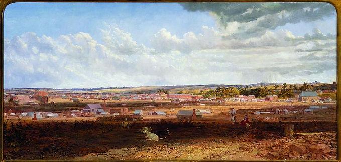 Thomas Wright, Sandhurst in 1862.jpg