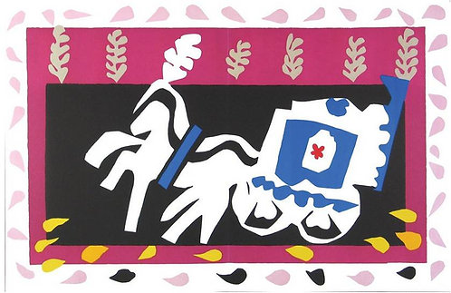 Matisse -  I'Enterrement de Pierrot 1983 repro