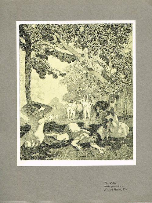 Norman Lindsay Tipped in Plate 1