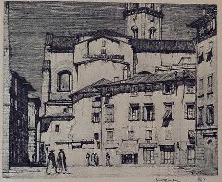 LC Rosenberg, La Badia, Florence