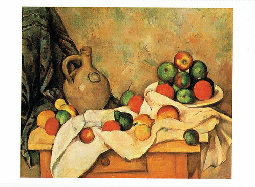Marc Chagall, Still Life with Curtain, Jug and Compotier