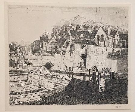 F L Griggs, The Quay