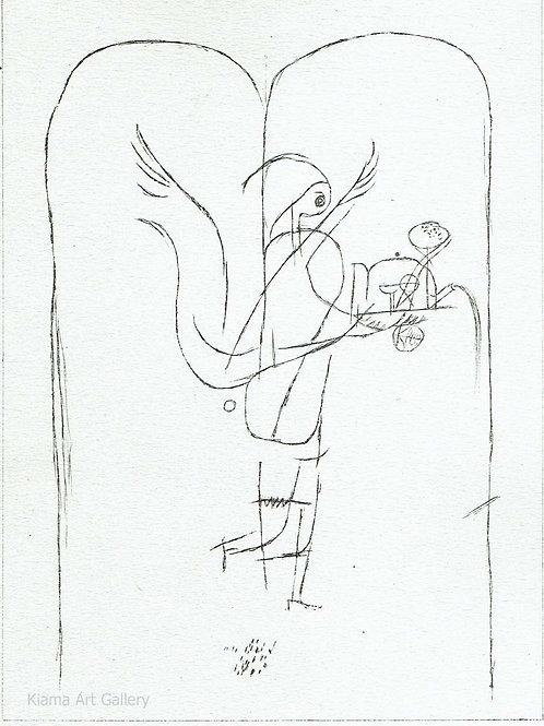 Paul Klee - Fulfillment Angel