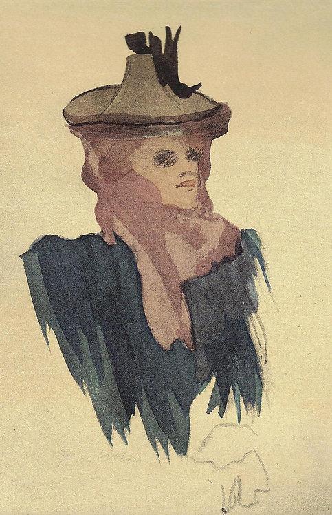 Jacques Villon, Americaine au Moulin Rouge