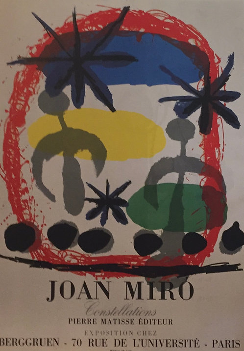 Joan Miro, Poster