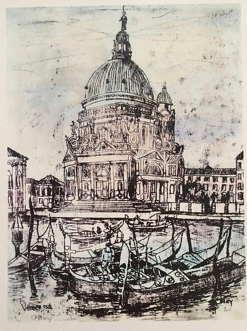 Margaret Olley, Venice (La Salute)