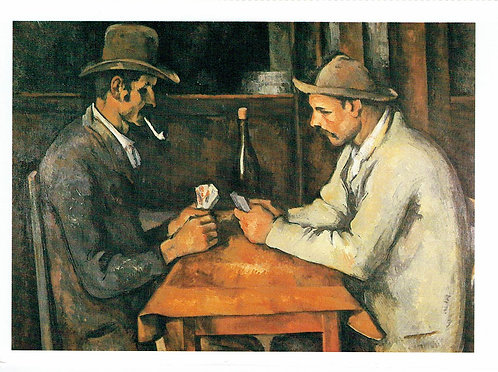 Paul Cezanne, Two Card Players