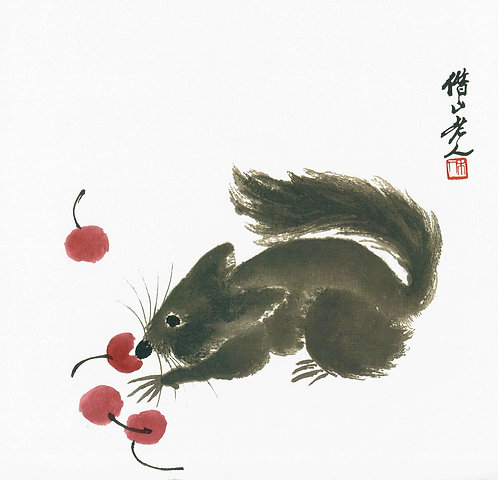 Mouse and Cherries