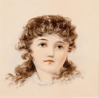 Emma Minnie Boyd, Young Girl, 1880.PNG