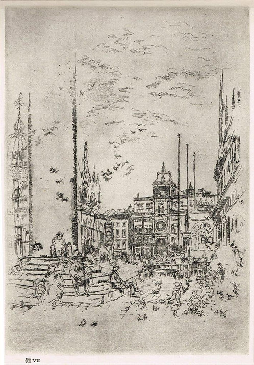 James McNeill Whistler, The Piazzetta
