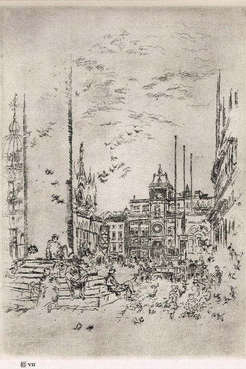 James McNeill Whistler, The Piazzetta