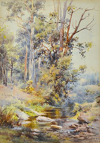 Emma Minnie Boyd,  Down the Creek, 1912.