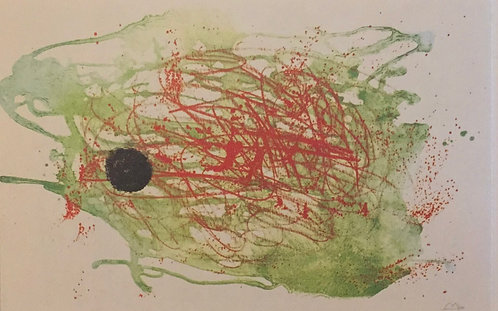 Joan Miro, Red and Green