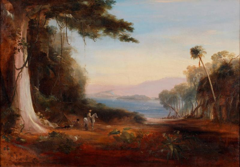 Conrad Martens, Illawarra Lake, 1835