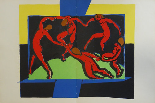 Matisse -  Lithograph - The Dance/The Skaters