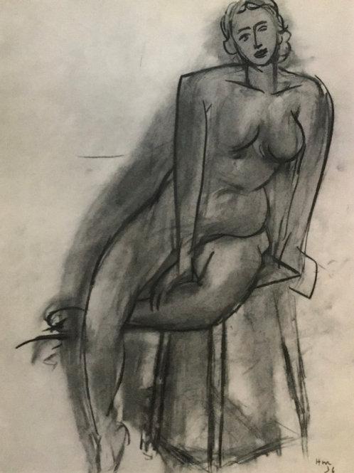 Matisse - Monochrome Heliogravure Plate 45/46