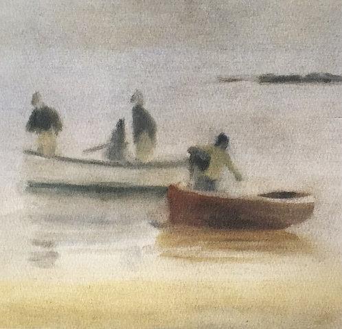 Clarice Beckett, Misty Evening, Beaumaris