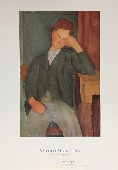 Amedeo Modigliani, The Young Apprentice