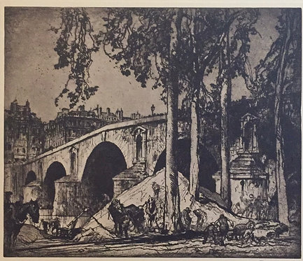 Frank Brangwyn, Pont Marie, Paris