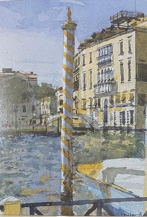 Ken Howard, The Grand Canal, Venice, 1996