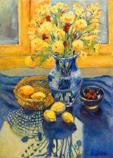 Lemons in Morning Light - לימונים באור