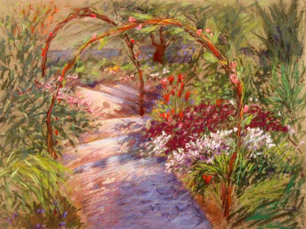 Pia's Garden - כניסה לגינה
