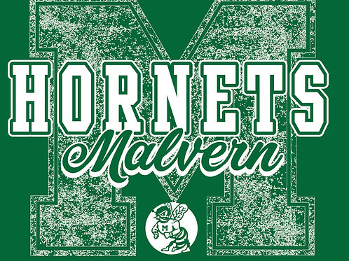 Malvern Hornets Distressed Tee