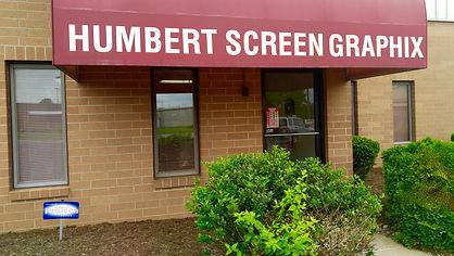 Humbert Screen Graphix store front