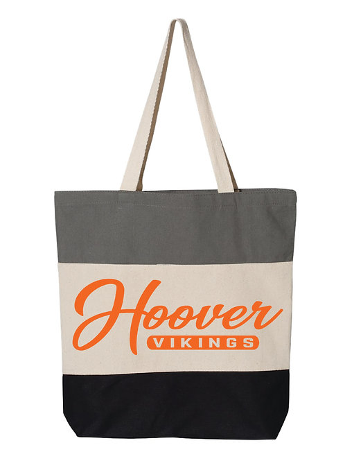 NC Hoover Tri-Color Tote