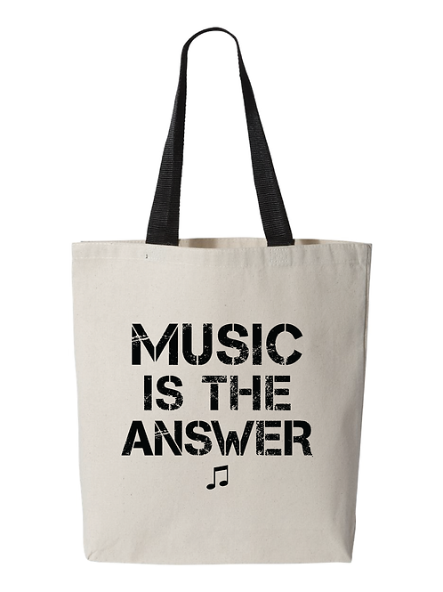 Music is the Answer Tote