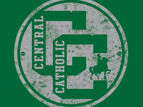 Central Catholic Distressed Tee