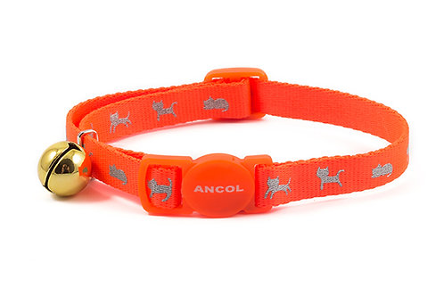 Assorted Cat collars with elastic or quick release buckle from £2.95 Free P&P