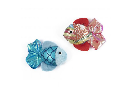 Ancol Cat Play Glitter Fish Batters