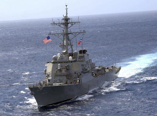 """China """"expulsa"""" un buque de EE.UU. de sus aguas:""""Céntrense en la lucha contra el covid-19"""""""