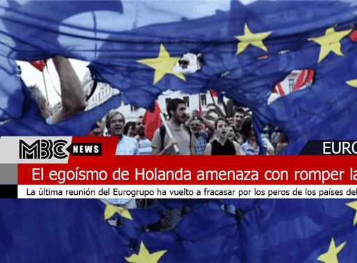 El egoísmo de Holanda amenaza con romper la UE