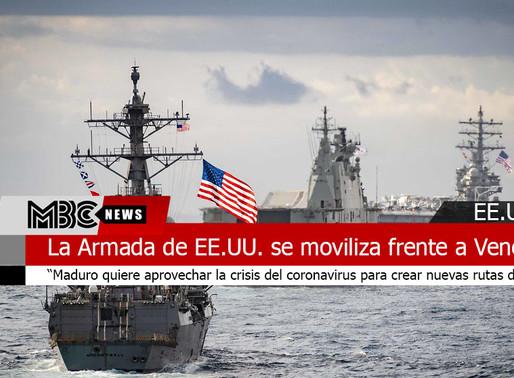 La Armada de EE.UU. se moviliza frente a Venezuela para cortar los envíos de droga.