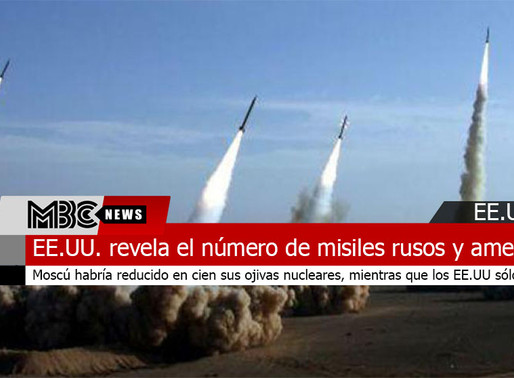 El Departamento de Estado de EE.UU. revela el número de misiles rusos y estadounidenses desplegados
