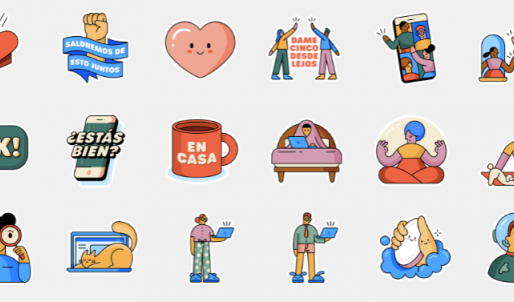 WhatsApp lanza un paquete con nuevos emoticonos para representar el coronavirus