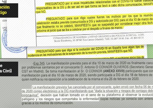 El diario.es desvela en exclusiva como La Guardia Civil manipuló la declaración de un testigo.