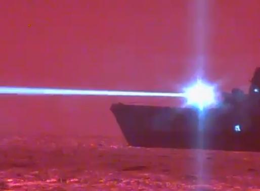 EEUU instala en uno de sus buques un rayo láser capaz de derribar drones enemigos