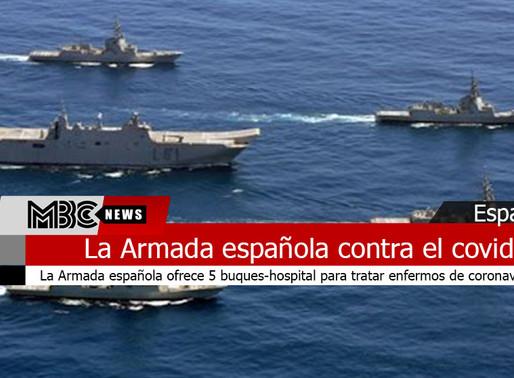 La Armada española ofrece 5 buques-hospital para tratar enfermos de Coronavirus