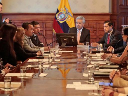 Gobierno de Ecuador anuncia recorte del gasto público para enfrentar la pandemia