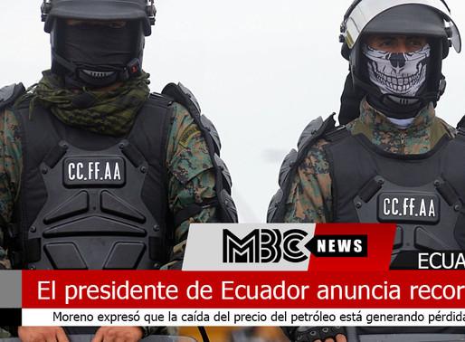 El presidente de Ecuador anuncia recortes para enfrentar crisis por el coronavirus