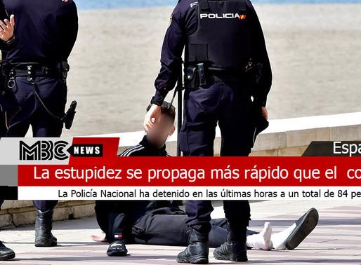 La estupidez se propaga más rápido que el  covid-19 en España