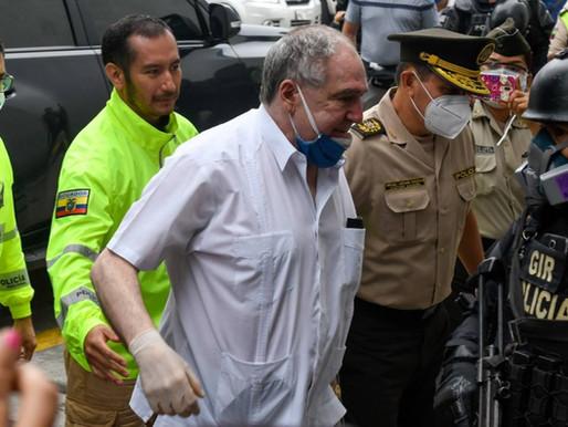 Arresto domiciliario para el expresidente de Ecuador Abdalá Bucaram