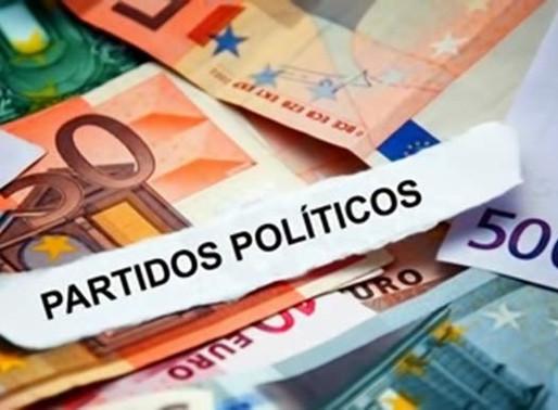 13 € millones del estado para los partidos políticos españoles
