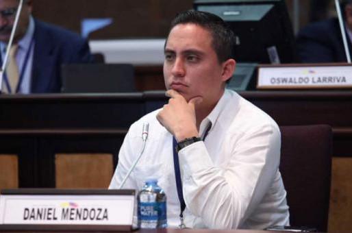 Prisión preventiva para el asambleísta Daniel Mendoza en Ecuador
